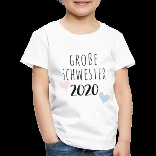 Große Schwester 2020 - Kinder Premium T-Shirt