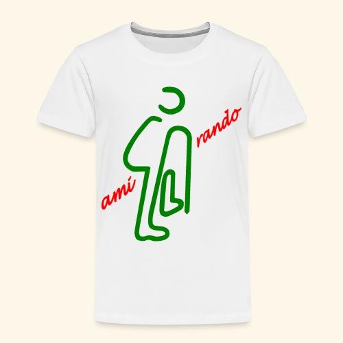 Amirando44 rouge vert fonce - T-shirt Premium Enfant