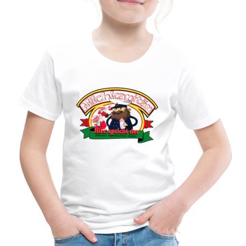 Milchkapitän Bitte Milchtüten - Kinder Premium T-Shirt