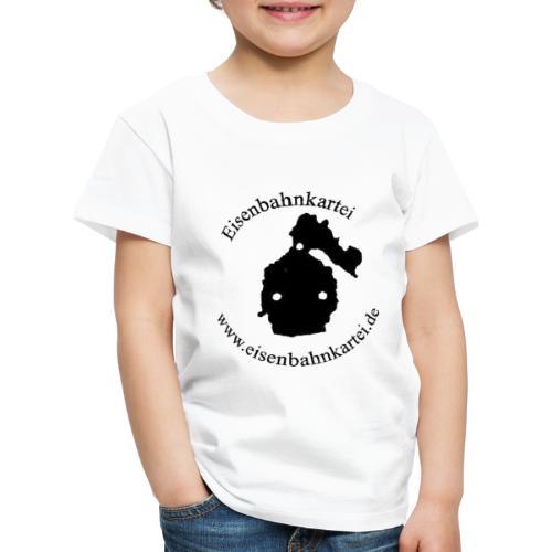 lokt schwarz 200dpi - Kinder Premium T-Shirt