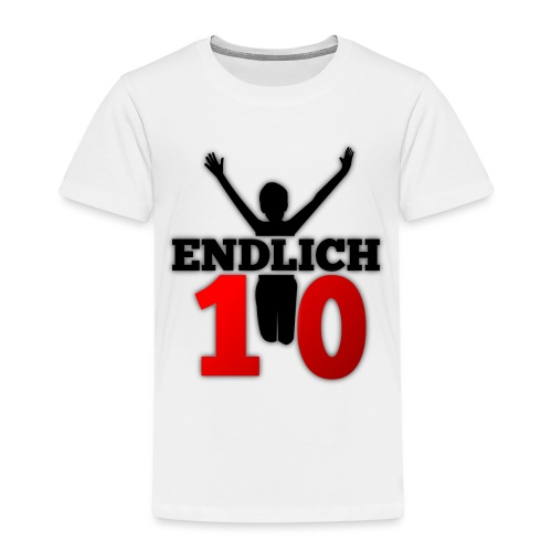 Kindergeburtstag 10 Jahre - Kinder Premium T-Shirt