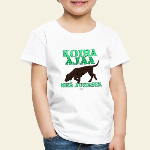 plottiajaa7 - Lasten premium t-paita