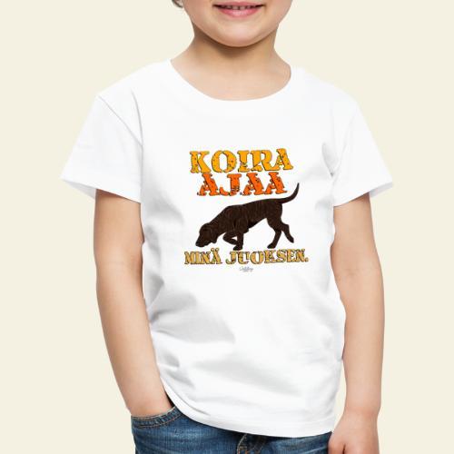 plottiajaa2 - Lasten premium t-paita