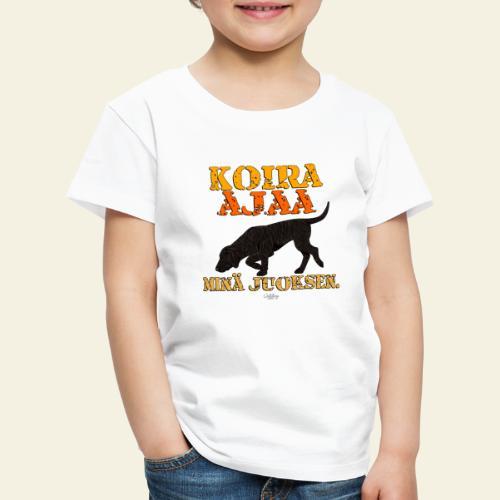 plottiajaa4 - Lasten premium t-paita