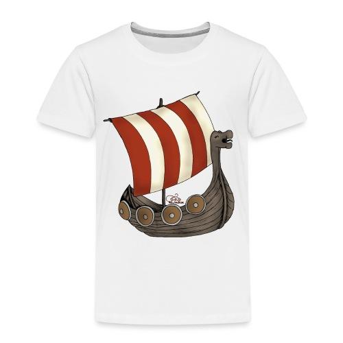Eriks Winkingerschiff - Kinder Premium T-Shirt