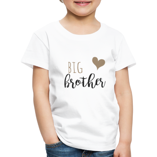 big brother Familyshirt - Kinder Premium T-Shirt