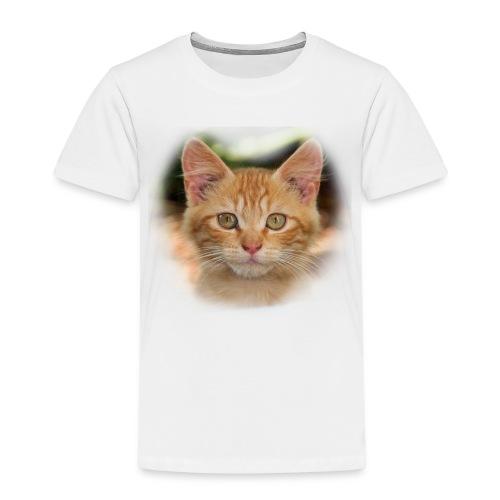 katze rand - Kinder Premium T-Shirt
