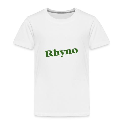PicCollage rhyno jpg - Kinder Premium T-Shirt