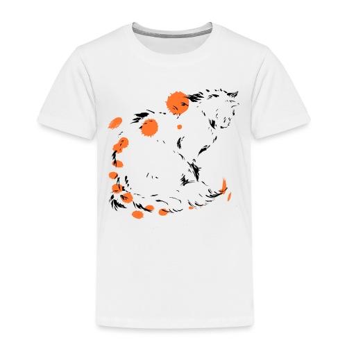 chat penseur - T-shirt Premium Enfant