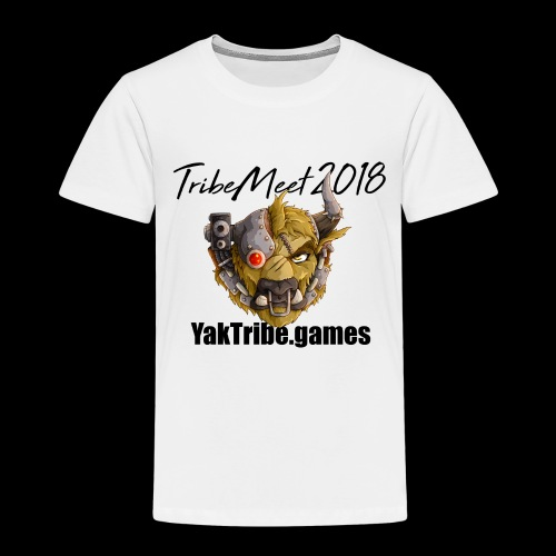 YakTribe TribeMeet 2018 Light - Kids' Premium T-Shirt