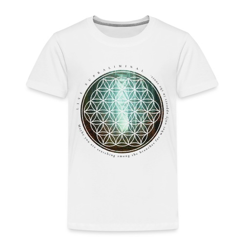 The flower of life - Premium-T-shirt barn