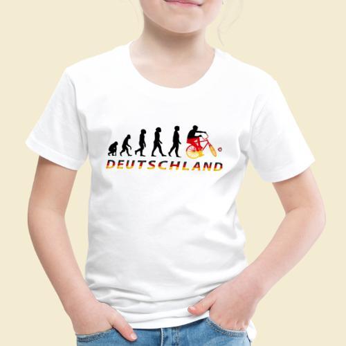 Radball | Evolution Deutschland - Kinder Premium T-Shirt