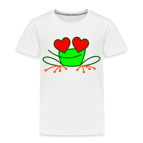 Frog in Love - Kids' Premium T-Shirt