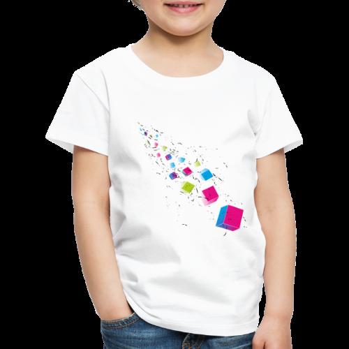 Cubechaos - Party und Open Air Festival Motiv - Kinder Premium T-Shirt