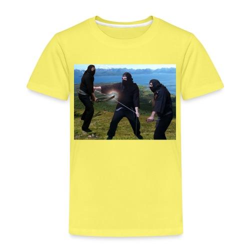 Chasvag ninja - Premium T-skjorte for barn
