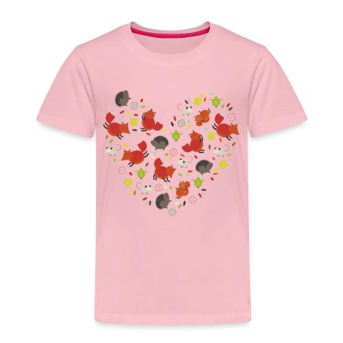 Metikössä - Lasten premium t-paita