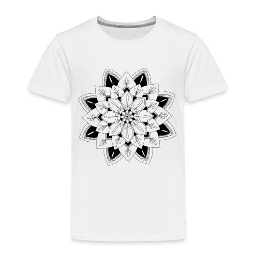 Mandala interior - Camiseta premium niño