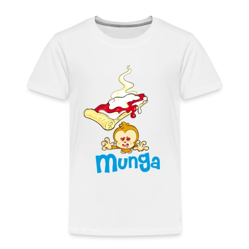 Munga Pizza - Maglietta Premium per bambini