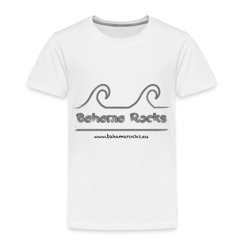 Bahama Rocks Logo Website - Kinder Premium T-Shirt