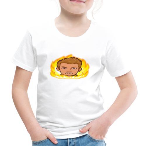 Aggressiv Lucky - Børne premium T-shirt