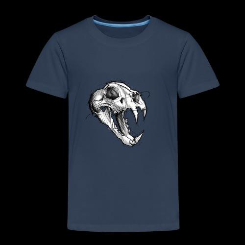 Teschio Tigre - Maglietta Premium per bambini