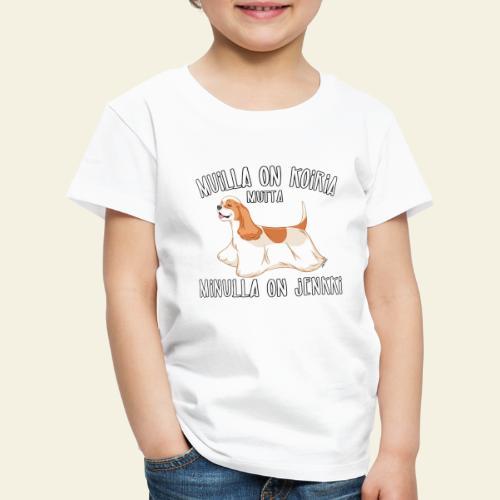 Jenkki Koiria - Lasten premium t-paita
