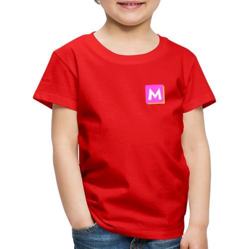 ByMINA logo - Børne premium T-shirt