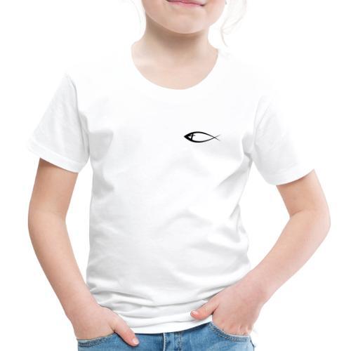 Jesus fisk - Børne premium T-shirt