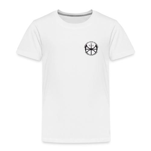 Svart NAF logo - liten - Premium T-skjorte for barn