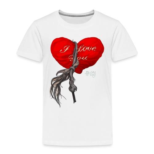 Heart - Koszulka dziecięca Premium
