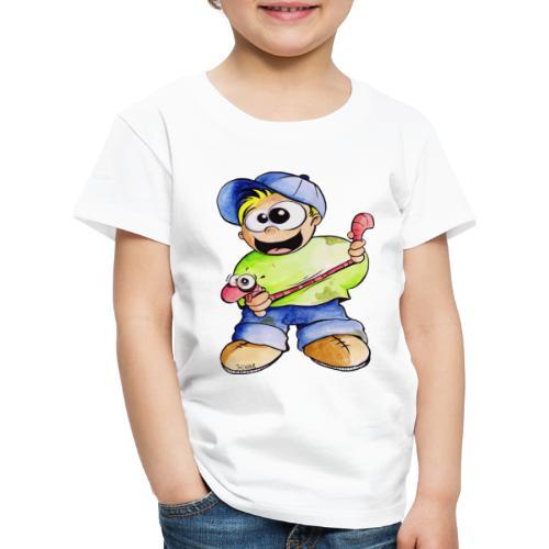 Elastizitätstest - Kinder Premium T-Shirt