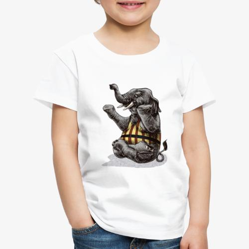 Elephant Yoga - Kids' Premium T-Shirt