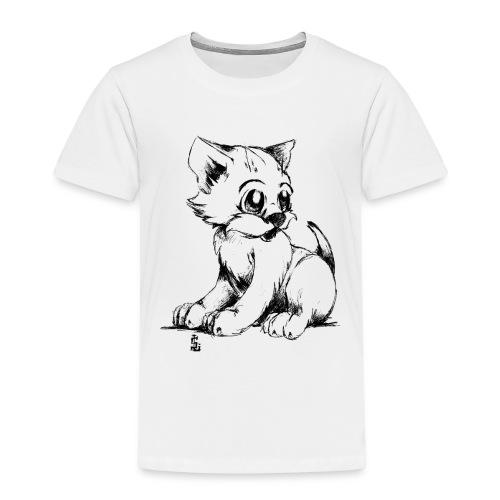 Chaton - T-shirt Premium Enfant