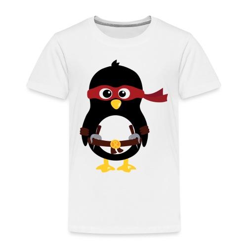 Pingouin ninja Raphaelo - T-shirt Premium Enfant
