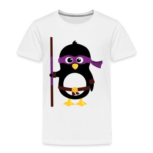 Pingouin ninja - T-shirt Premium Enfant