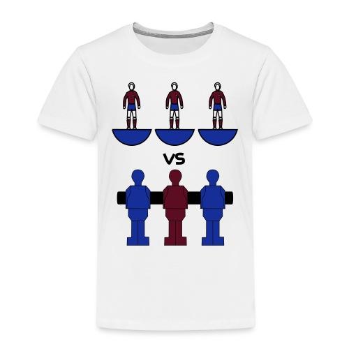 subbuteo vs calcio balilla - Maglietta Premium per bambini