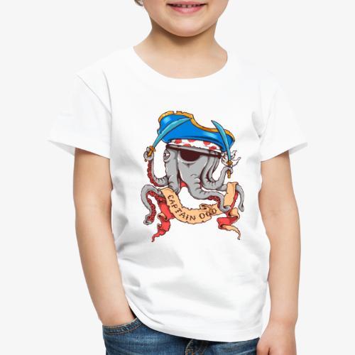 Hauptmann Octopus - Kinder Premium T-Shirt