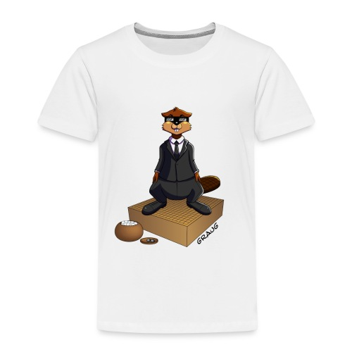 Pim my Nuki - Men In Black - T-shirt Premium Enfant