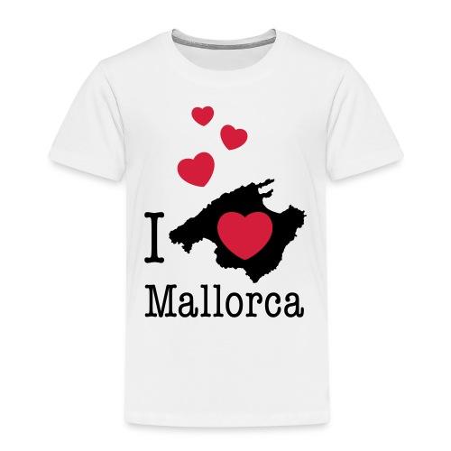 love Mallorca Balearen Spanien Ferieninsel Urlaub - Kids' Premium T-Shirt