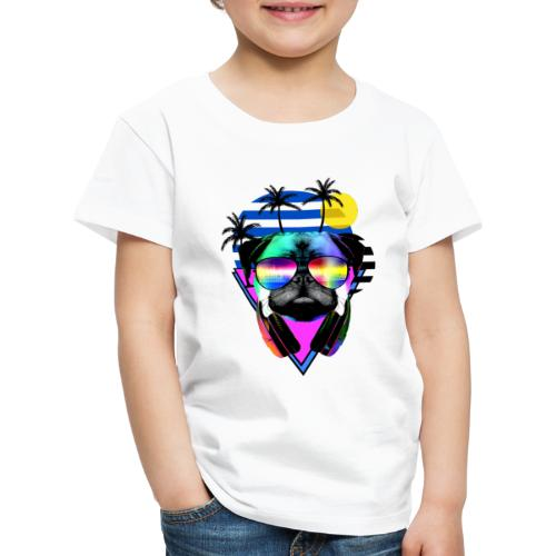 Sunglas dog - Kids' Premium T-Shirt
