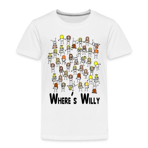 Where's willy - Kids' Premium T-Shirt