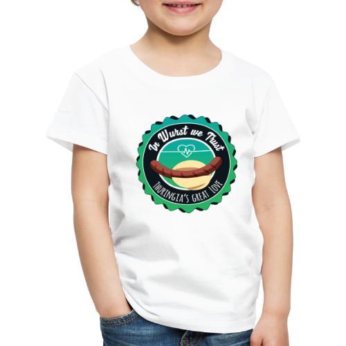 In Wurst we Trust - Kinder Premium T-Shirt