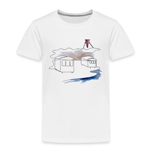 Blokhus 1 - Børne premium T-shirt