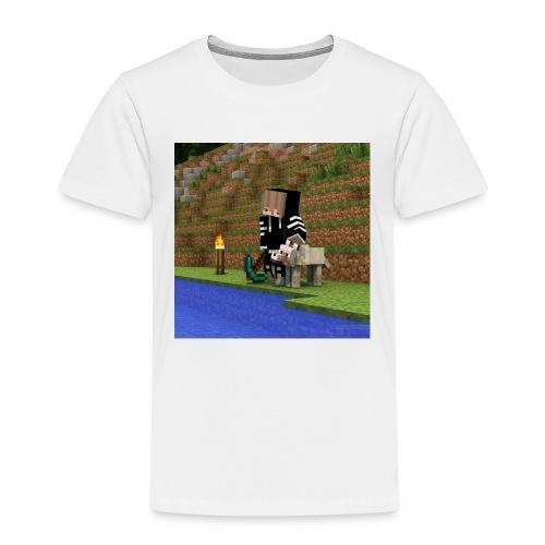Das sind die Sachen mit mir und einen Wolf draufjj - Kinder Premium T-Shirt