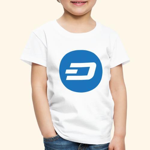 Dash Logo 2 - Kinder Premium T-Shirt