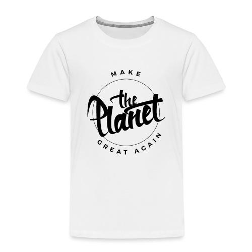 MakeThePlanetGreatAgain Organic Shirt White - Kids' Premium T-Shirt