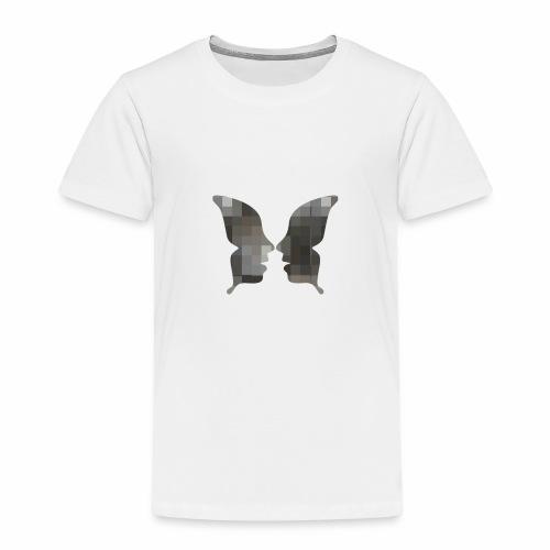 Schmetterlingsgesicht - Kinder Premium T-Shirt