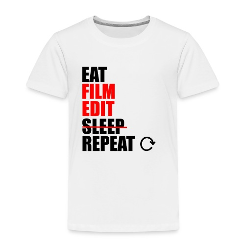 Life of a filmmaker - Kinder Premium T-Shirt