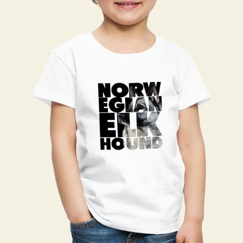 NASSU Norjanharmaa 2 - Lasten premium t-paita
