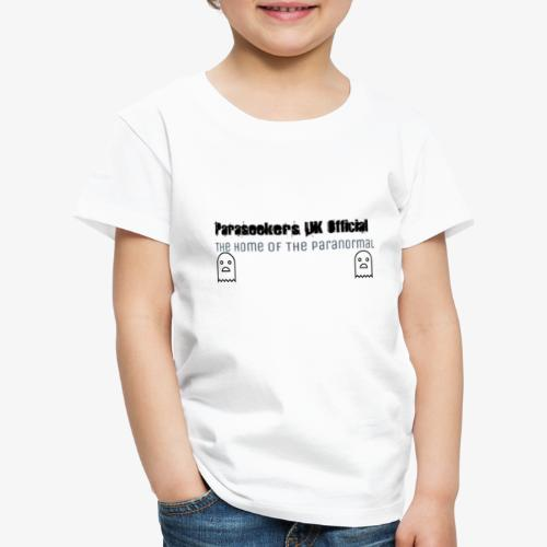 Paraseekers UK Official The Home of the Paranorma - Kids' Premium T-Shirt